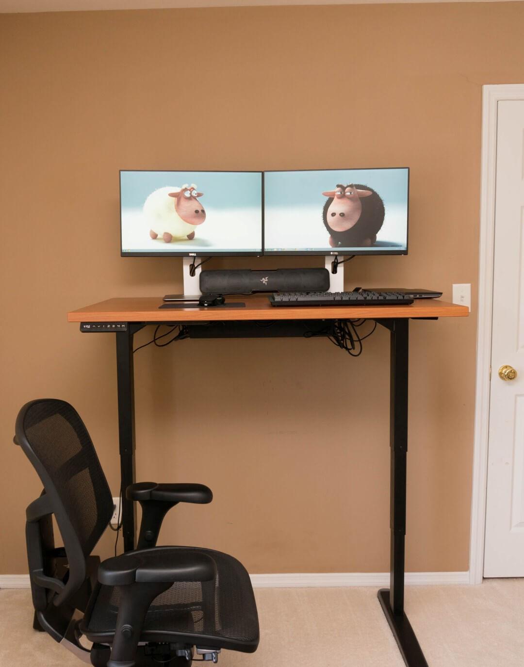 jarvis sit stand desk review. Black Bedroom Furniture Sets. Home Design Ideas